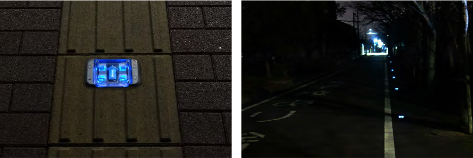 避難誘導灯(青)特徴画像
